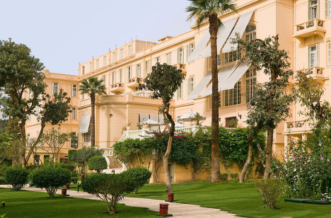 Old Winter Palace, one of Egypt's most exclusive hotels