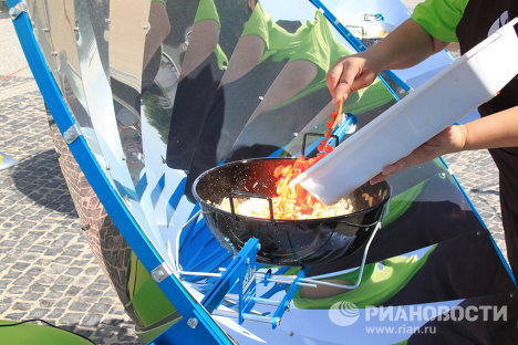 Environmentally friendly solar cooker for tasty food