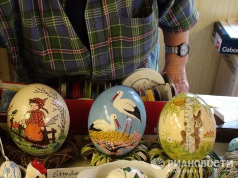 Easter eggs as masterpieces