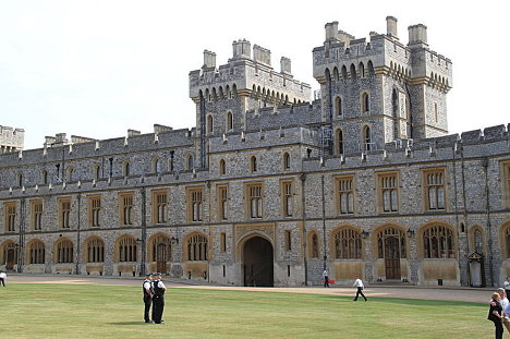 The South Wing of the Upper Ward, Windsor Castle