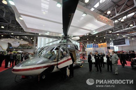 HeliRussia-2011 showcases latest helicopters