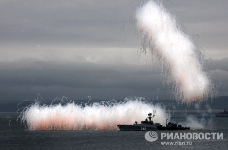 From Vladivostok to Baltiisk: Russian Navy Day
