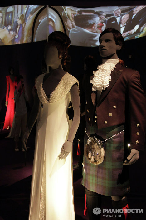 Clothes and Accessories of 007 and His Women at London Exhibition