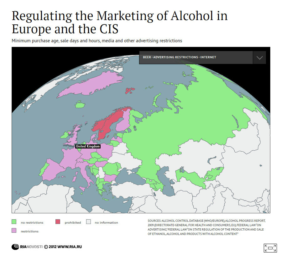 Regulating the Marketing of Alcohol in Europe and the CIS