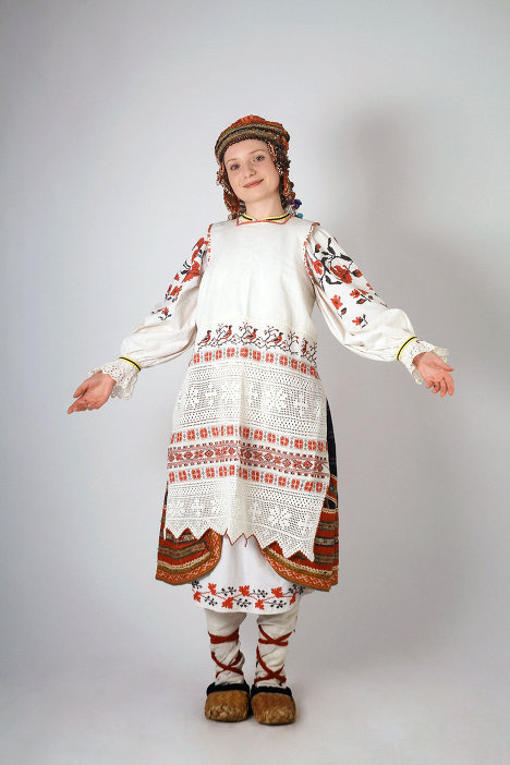 Russian National Costume