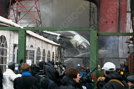 Fire in Moscow nightclub