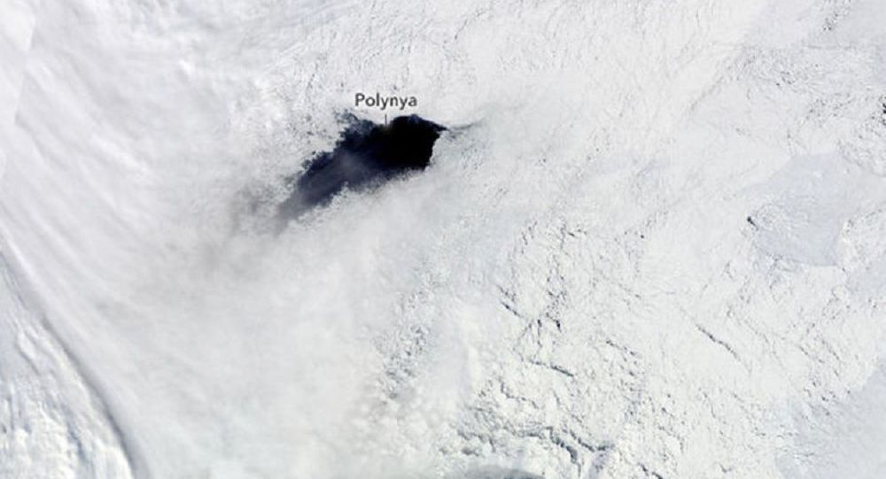Strange holes keep opening in South Pole