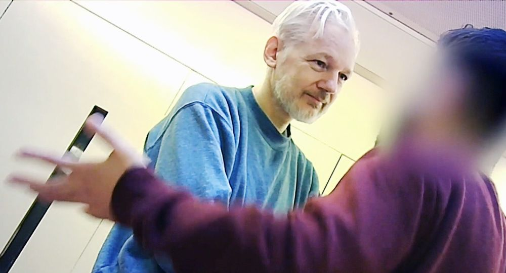 J. Assange in Prison Belmarsh in London