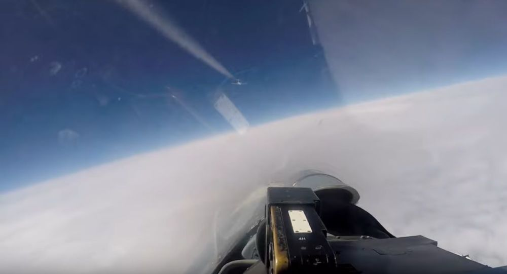 Russian Federation  scrambled fighters to intercept US  and a Swedish reconnaissance aircraft