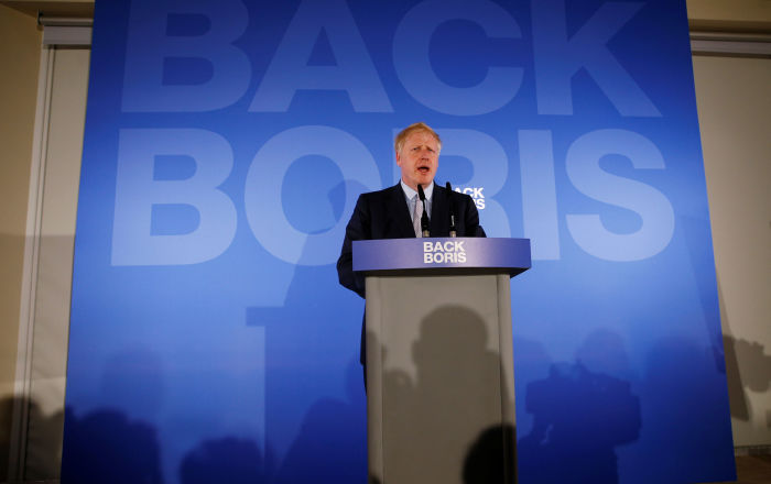 Boris Johnson Promises to Protect Britain From Red-Clawed Socialism Under