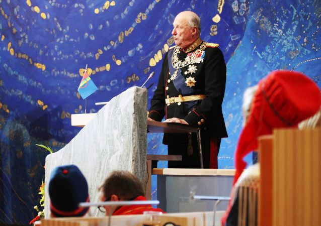 H.M. Kong Harald taler