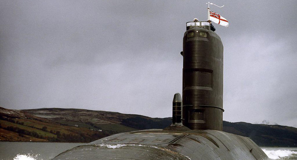 Royal Navy Submarine HMS Splendid