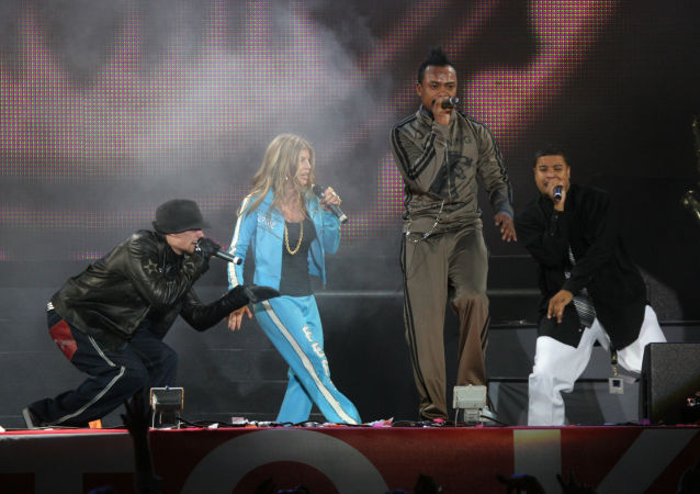 The Black Eyed Peas in Moscow