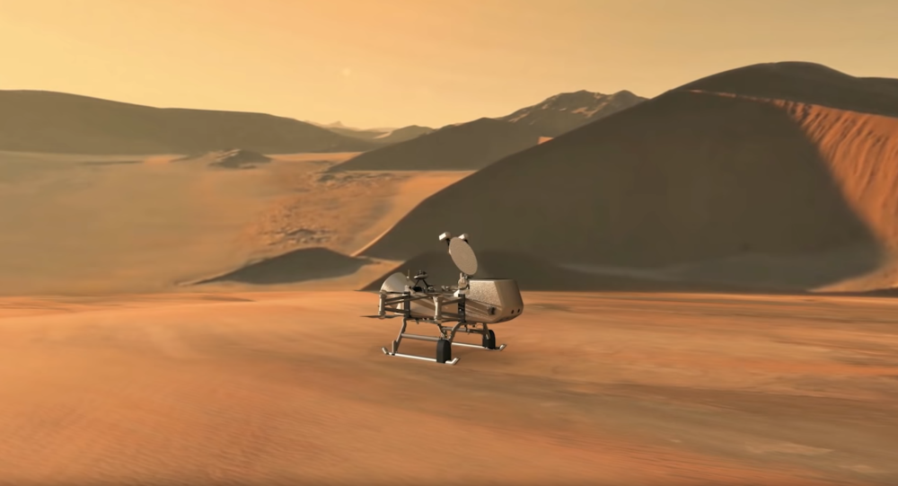 Drone helicopter to fly on Saturn moon