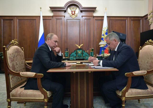 Russian President Vladimir Putin met the country's Defence Minister Sergei Shoigu hours after the news about the deadly incident aboard an underwater vessel had broke