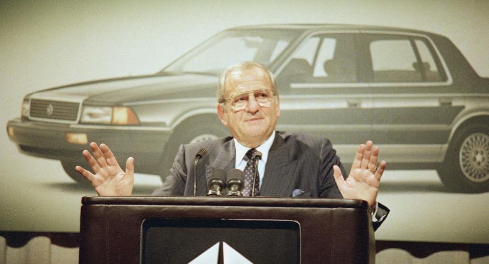 Chrysler Corp. Chairman Lee Iacocca