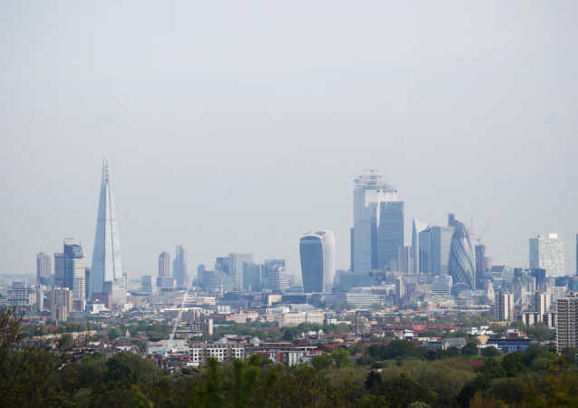 FILE PHOTO: A general view of The Shard and the financial district is seen in London, Britain, May 7, 2019.