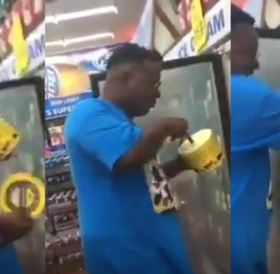 US Man Arrested After Licking, Fingering Ice Cream in 'Copycat' Recording