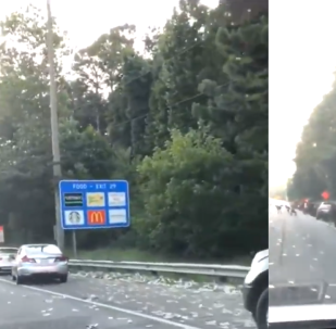 Commuters Scramble on Georgia Interstate After Armored Car Loses Nearly $200K