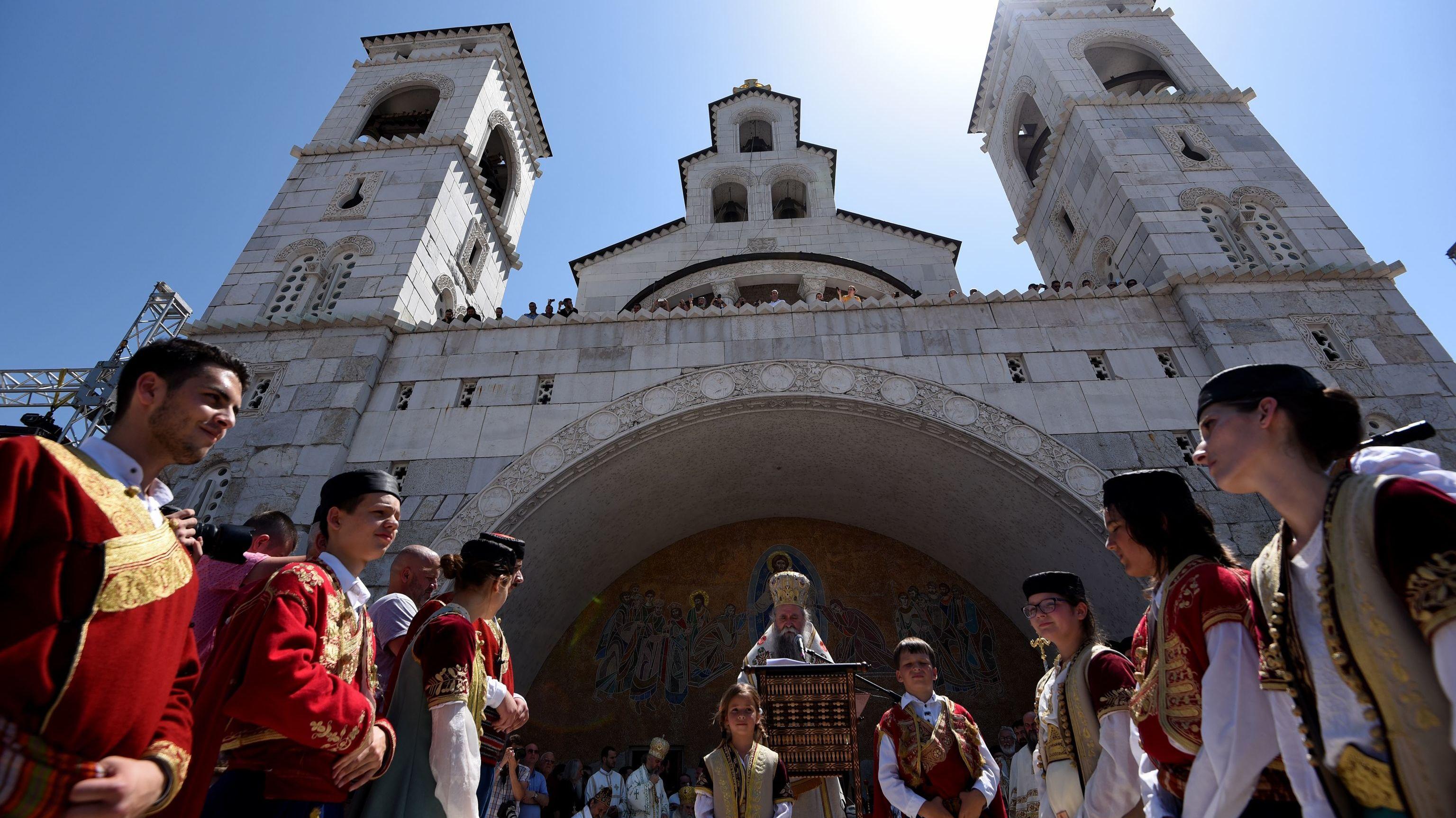 Serbian Orthodox Church (File)