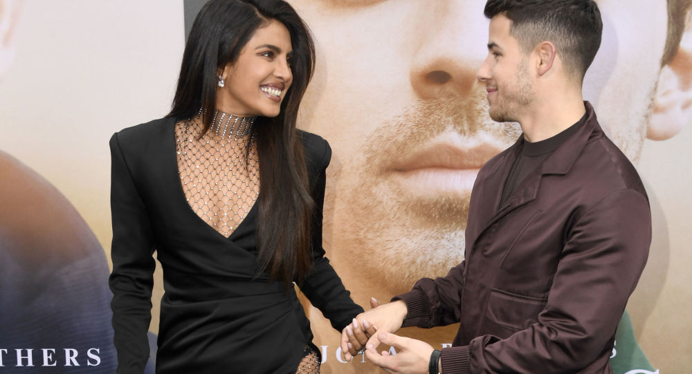 Priyanka Chopra-Jonas (L) and Nick Jonas attend the Premiere of Amazon Prime Video's 'Chasing Happiness' at Regency Bruin Theatre on June 03, 2019 in Los Angeles, California