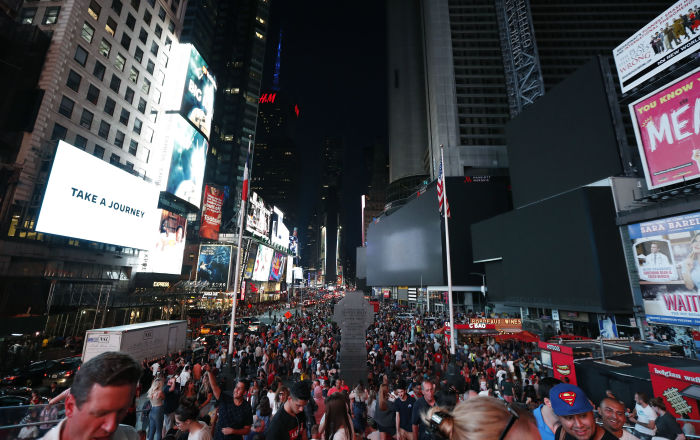 Large Scale Power Outage Hits Parts of New York City