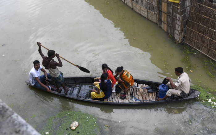 Assam Woman Names Baby 'Krishna' after Giving Birth in Boat During Floods
