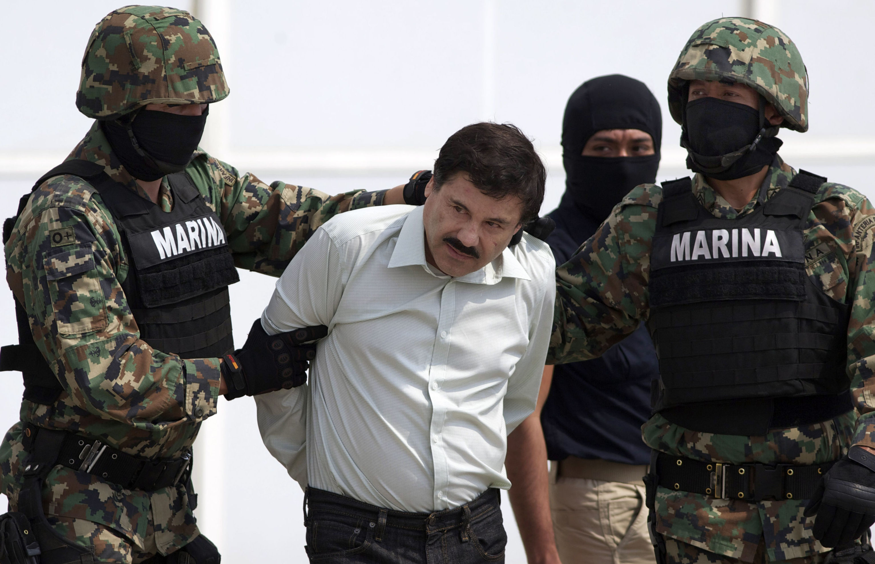 Mexican Drug Lord, 'El Chapo' Sentenced To Life In Prison