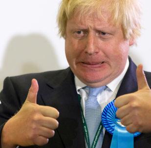 Britain's Foreign Secretary Boris Johnson (File)