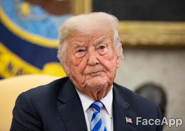 Donald Trump as an older man