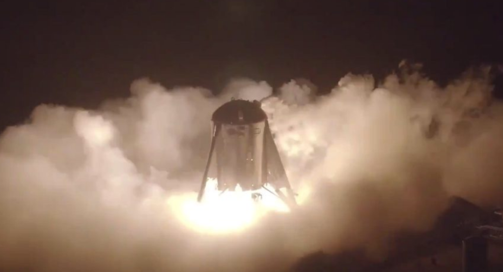SpaceX's Starhopper Takes Leap For The First Time