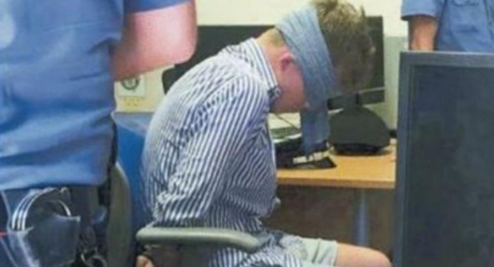 Italian Police Investigate Image of Blindfolded US Murder Suspect