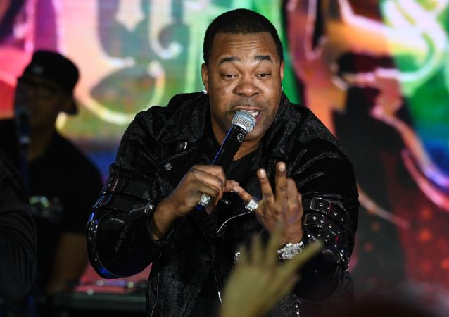 Busta Rhymes at Bravo Award in Moscow