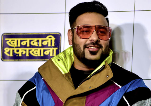 Rap-music composer and singer Badshah poses for photographs as he attends the trailer launch of upcoming Hindi film 'Khandaani Shafakhana' in Mumbai on July 22, 2019
