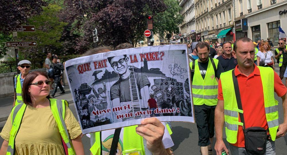 Yellow Vests protests in Paris