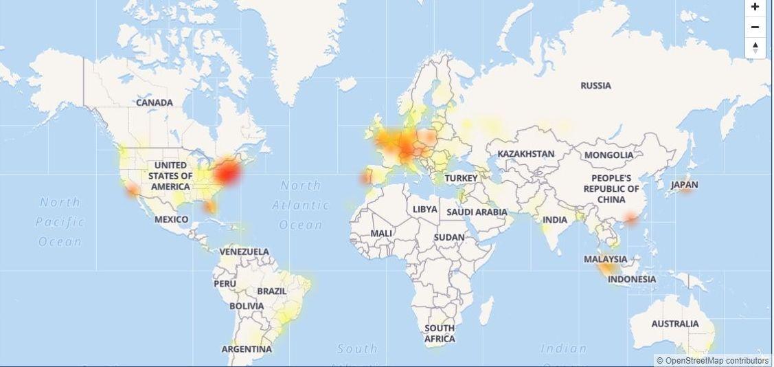 Instagram Users in Europe, US Report App is Down - Sputnik International
