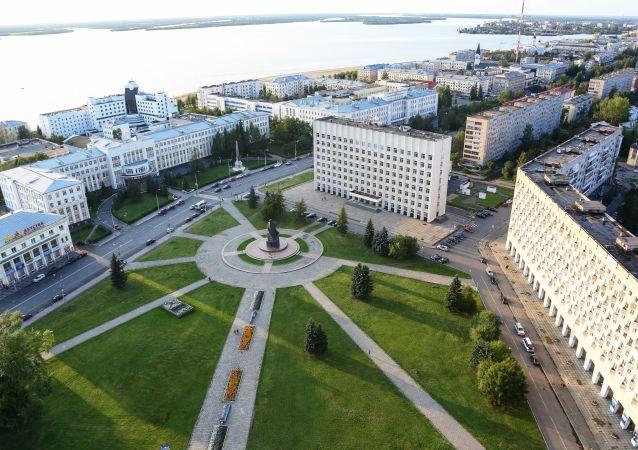 Arkhangelsk city, Russia