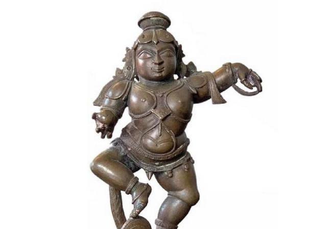 Navaneetha Krishna idol