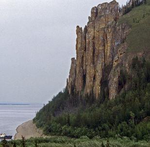 The Leninskiye Stolby national park, Yakutia