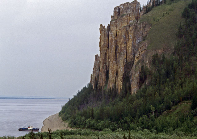 The Leninskiye Stolby national park, Yakutia