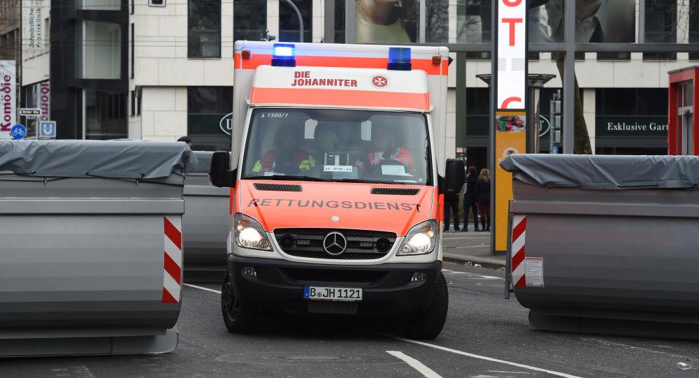 An ambulance car in Germany