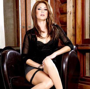 Former adult film actress Jenni Lee (real name Stefanie Sadorra)