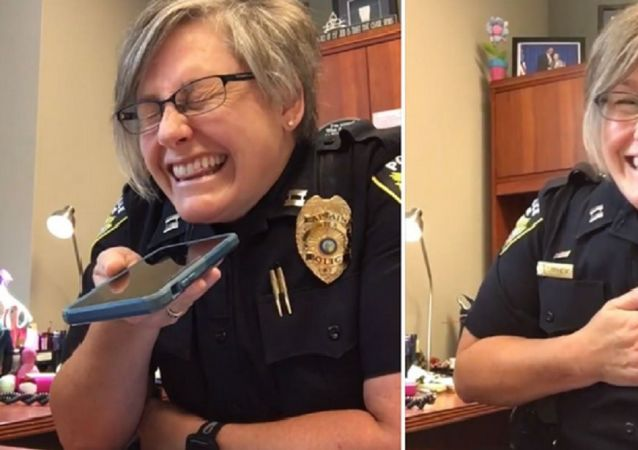 North Carolina's Apex Police Department has posted a video on Facebook showing Captain Ann Stephens trolling a man after he claimed she was allegedly in serious trouble