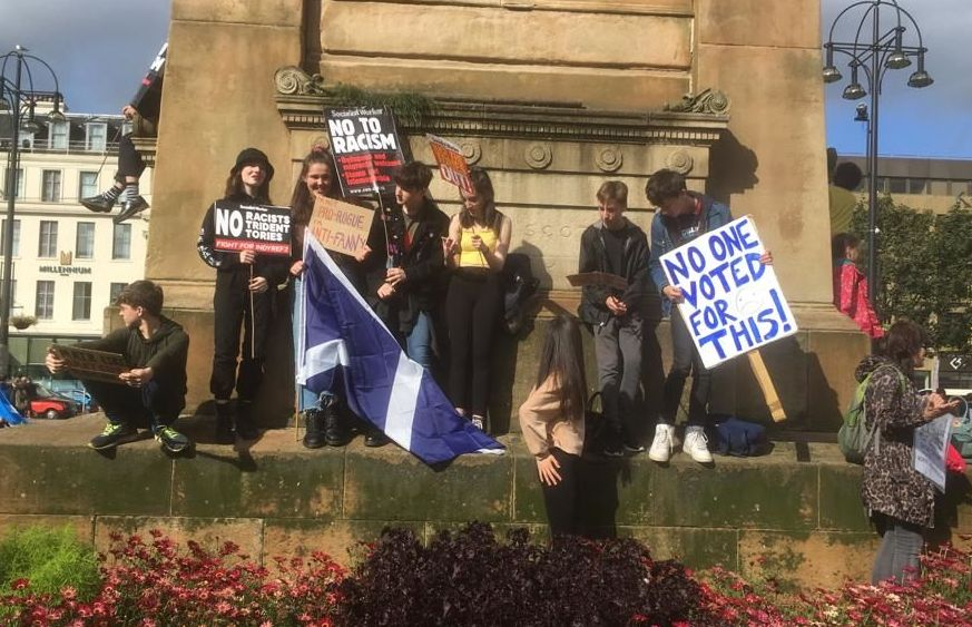Glasgow protests