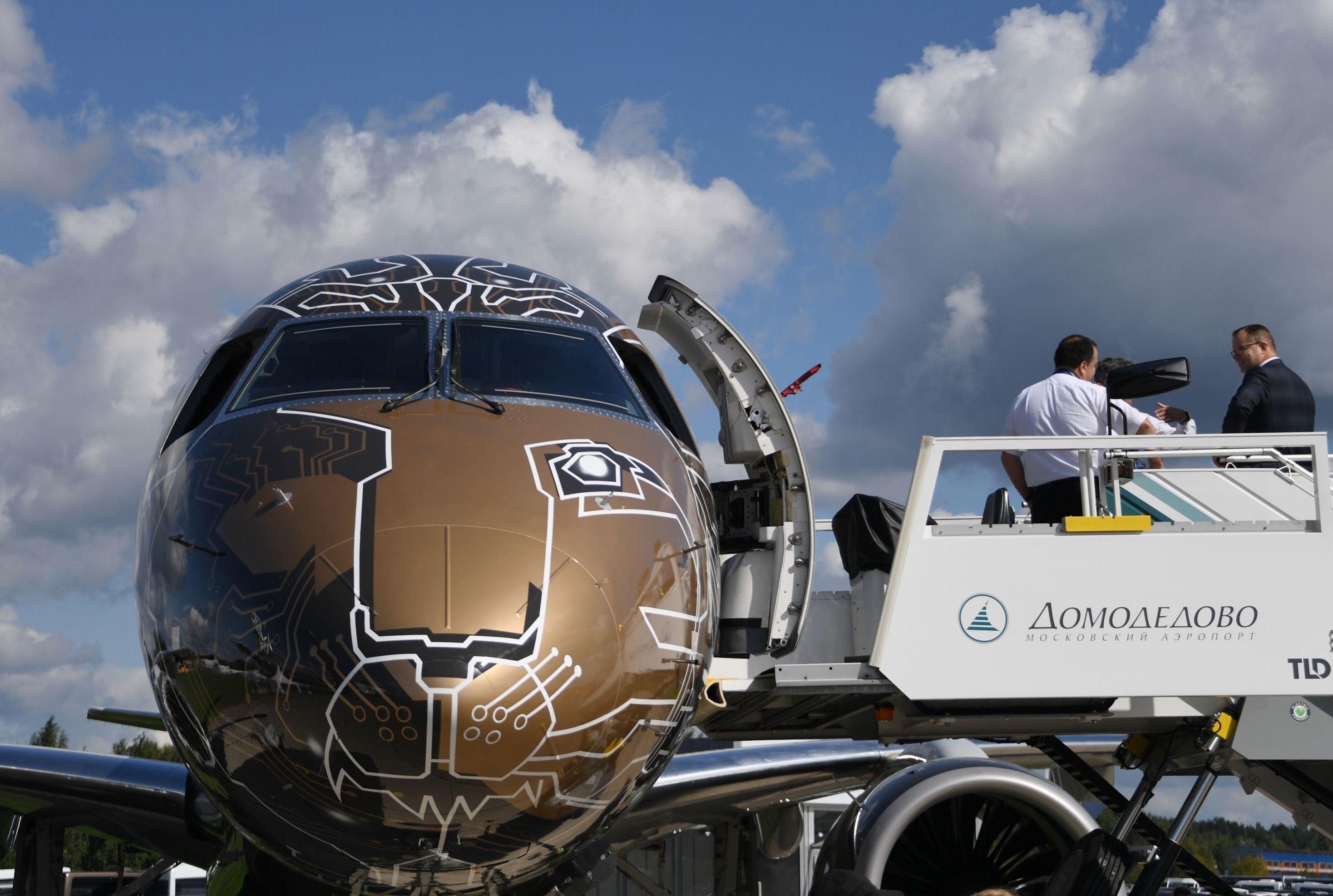 Embraer 195-E2 Profit Hunter at MAKS-2019