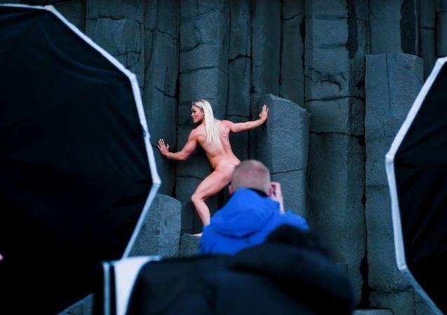 Katrín Davíðsdóttir in the Body Issue: Behind the scenes | Body Issue 2019