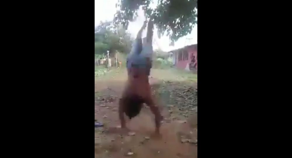Amazing! 30 Somersaults at a time! There is no dearth of talent in our country only the need a chance n blessing of people