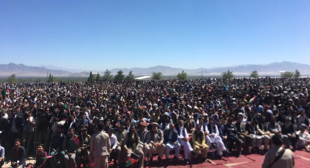 President Ashraf Ghani  election rally targeted by an explosion in  Parwan province