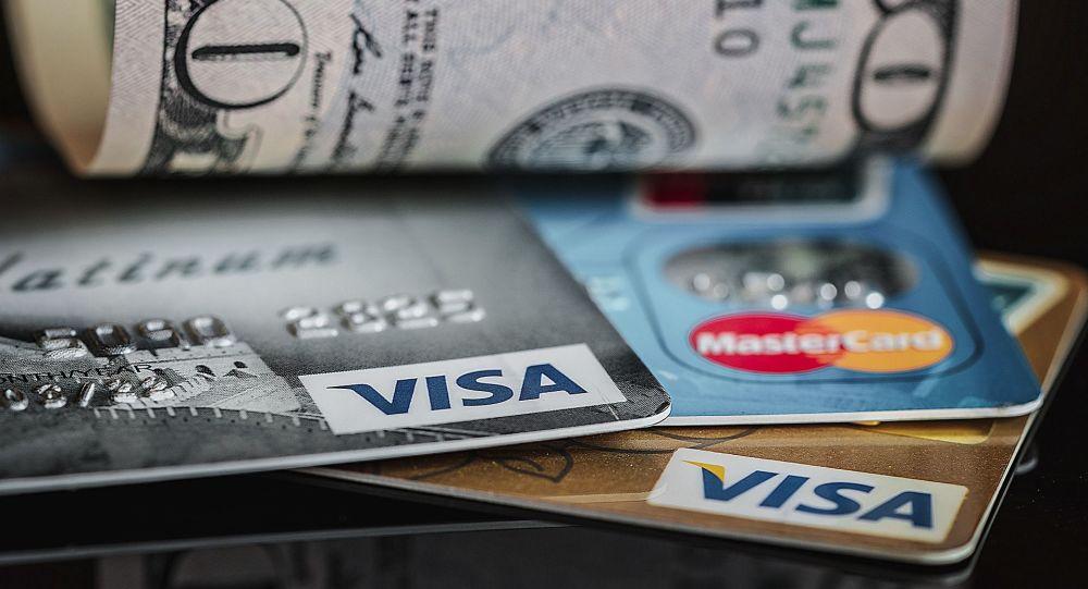 Credit cards, $50 bill USD