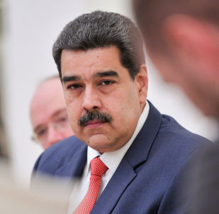Venezuelan President Maduro attends a meeting with his Russian counterpart Putin in Moscow